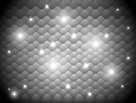glowing skin: resumen de antecedentes de color gris con un efecto de luz de las escalas