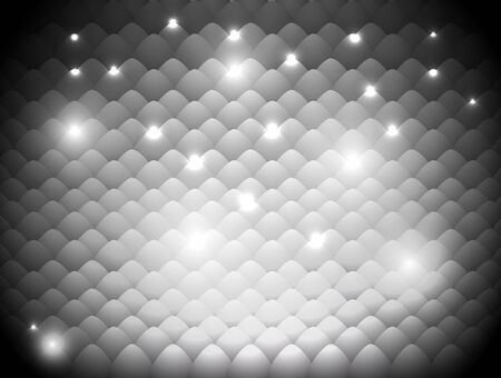 abstract gray background with a light-scales effect Vector