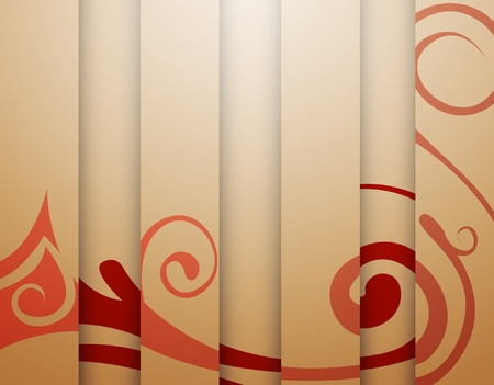 red-beige background with stripes Stock Vector - 13639382