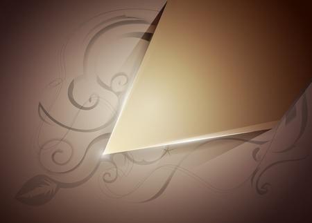 originalidad: vector de la disposici�n marco con un patr�n sobre un fondo