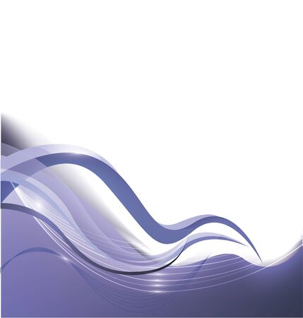 beautiful blue abstract background Vector
