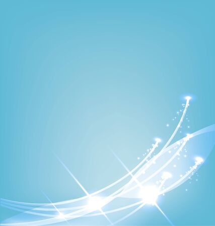 blue background with the lines and lights