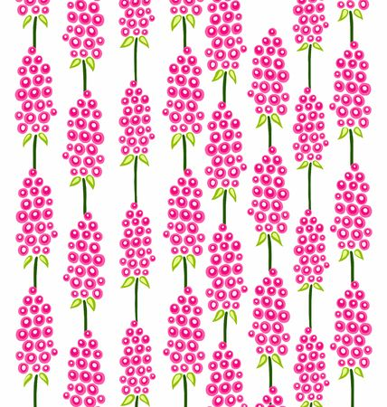 delicate: delicate pattern of pink flowers on a white background