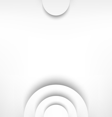 echoes: abstract gray background with shadow waves and empty space Illustration