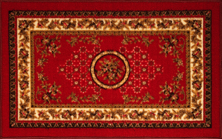 The old Persian carpet. view from above Фото со стока