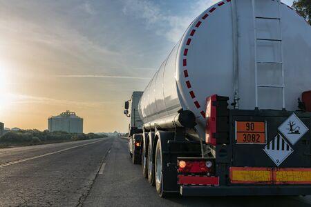 Ciężarówka cysterna