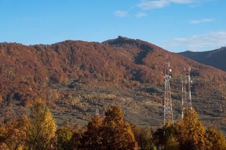 sere: autumn landscape foliage Stock Photo