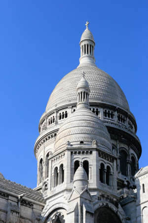Sacre Coeur, Basilica, France Stock Photo