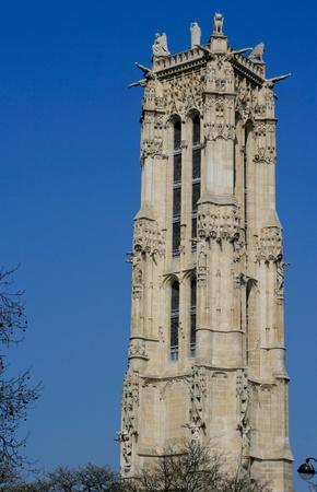 st jacques: tower in paris