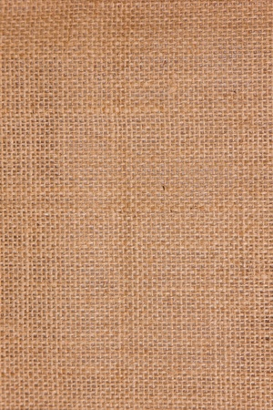 abstract texture of a linen sack for shopping