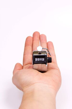 hand clicker counter at zero Stock Photo - 11512799