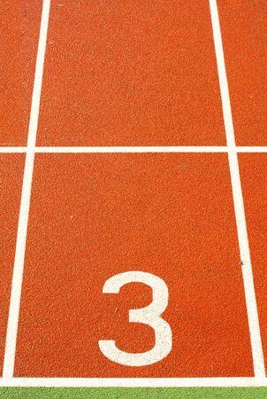 Running tracks Stock Photo - 11984333