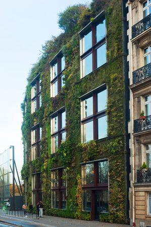 vegetate: Branly Museum - Paris