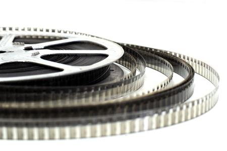 Ancien rouleau façonné vidéo en noir et blanc