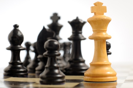 one piece: Chess Stock Photo