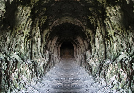 Rock tunnel  photo