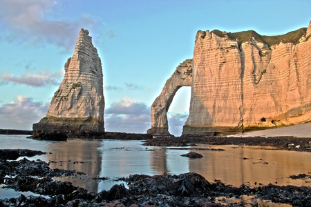 littoral: Etretat - France