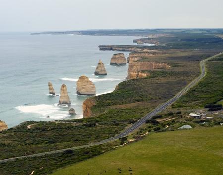 12 Apôtres Sur la Great Ocean Road - Australie Banque d'images