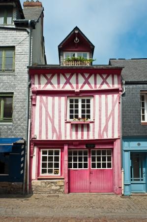 abbeys: Honfleur Stock Photo