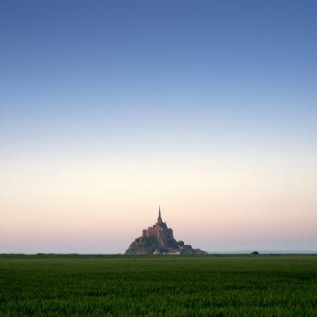 Mont saint michel photo