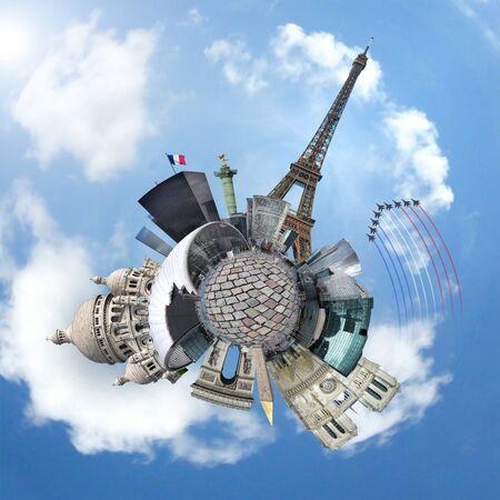 vue: Paris concept Stock Photo