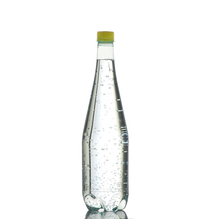 definition high: Bottle of water on a white background in high definition