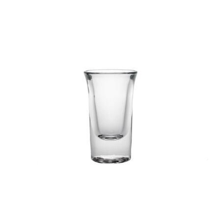 shooter drink: View of a Glass isolated on a white background in high resolution