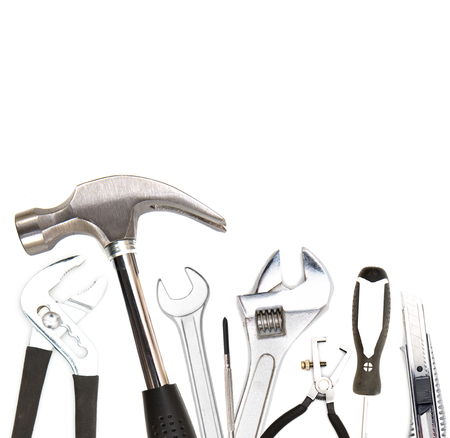 spammer: View of collection of tools on high definition