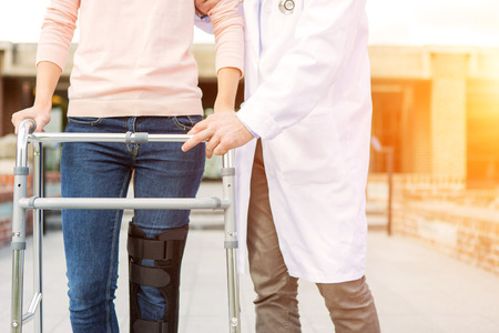 splint: Cierre de vista de una f�rula y andador