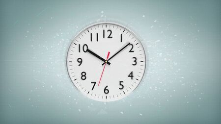 View of a Clock timer isolated on a background 3d rendering Stock fotó