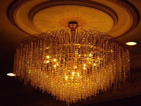 natty: chandelier