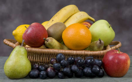 Assorted Fruits in a basket