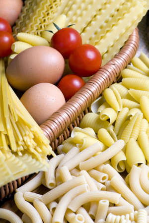 All the ingredients of a good pasta photo