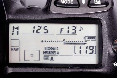 プロフェッショナル デジタル一眼レフ メーターのマクロ撮影。生の撮影 写真素材