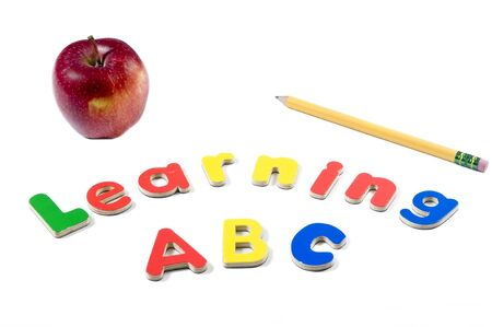 abc's: The ABCs of life. Education is the key to the future.