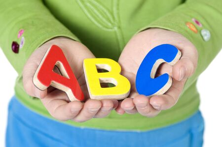 The ABCs of life. Education is the key to the future.