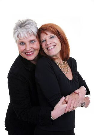 Two beautiful active women over 50 and 60. Stock Photo - 3495486