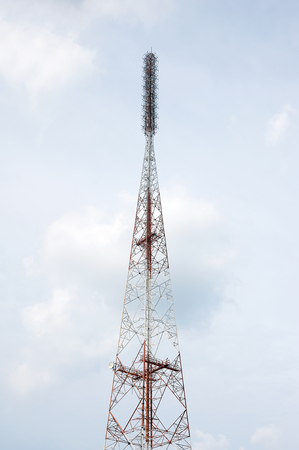 Antenna tower 版權商用圖片