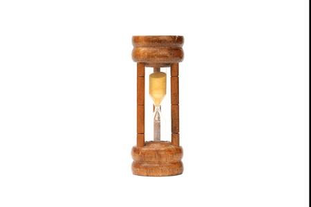 Sandglass classic style on white background Stok Fotoğraf