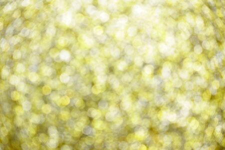Golden glitter bokeh abstract background