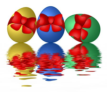 colorful easter eggs Stock Photo - 4522631