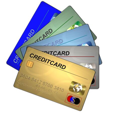 creditcards: set of creditcards