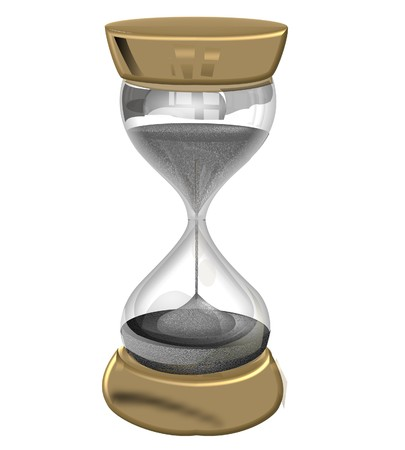 relic: illustration of a sandglass – hourglass