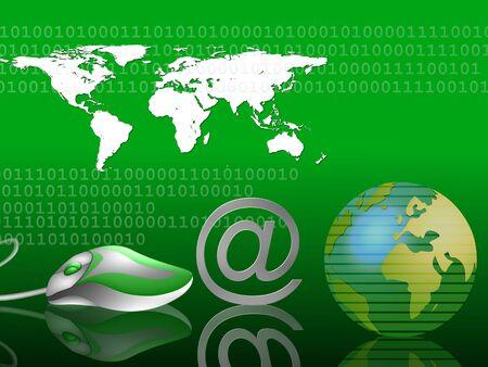 internet - communication background 6 Stock Photo - 4532333