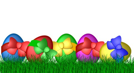 colorful easter eggs Stock Photo - 4532350