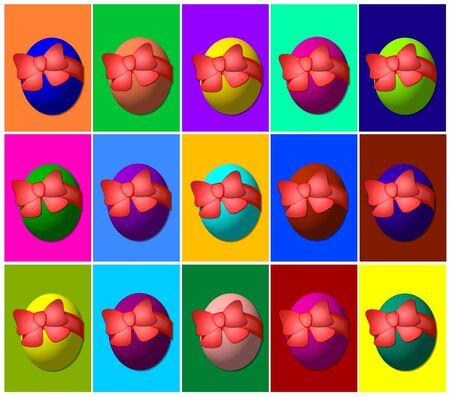 easter egg background photo