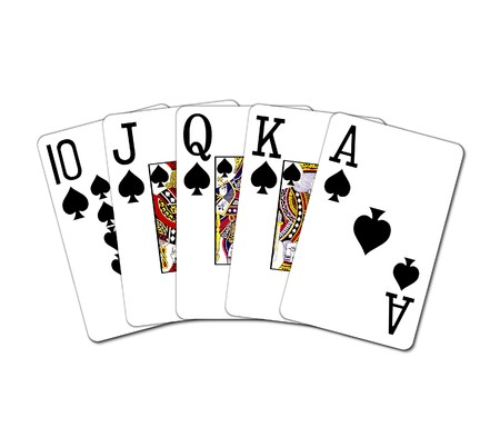 royal flush 4 Stock Photo - 4532296