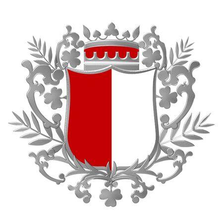 heraldic shield photo