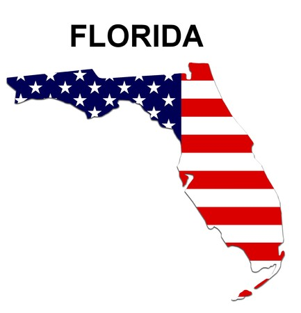 Map Of Florida Stock Photo Picture And Royalty Free Image Image - Us map of florida
