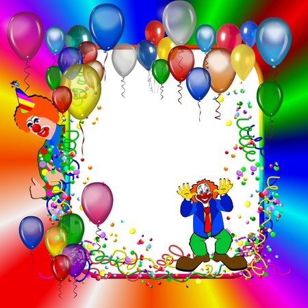 celebratory event: Colorful Birthday or party poster